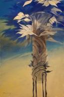 Vase Blue V06