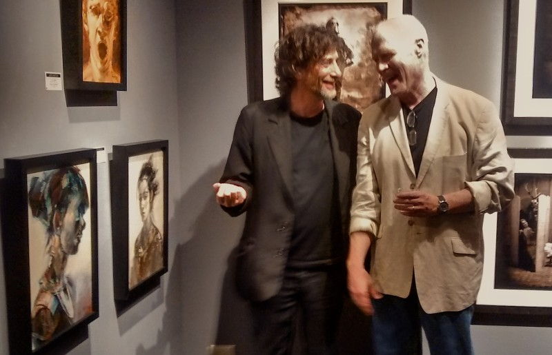 Neil Gaiman and Rick Berry